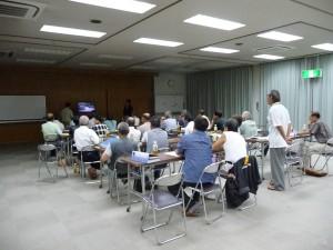 2011年8月23日実施 昭和32年災害映像上映会