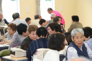 2011年6月12日実施 品野台高齢者井戸端会議-1