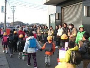 2011年2月1日実施 あいさつ運動