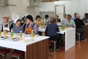 平成26年 高齢者向け料理教室-2