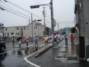 2011年6月1日 あいさつ運動実施!!
