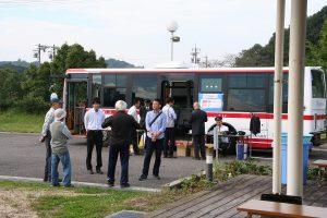 バス試乗コーナー